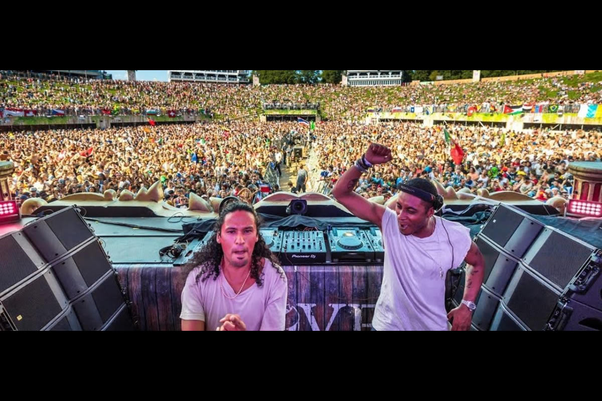 Sunnery James e Ryan Marciano in consolle. Foto da Ufficio Stampa