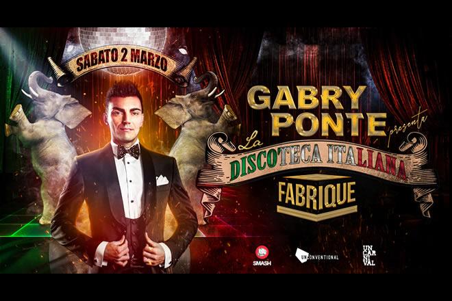 Gabry Ponte presenta La Discoteca Italiana