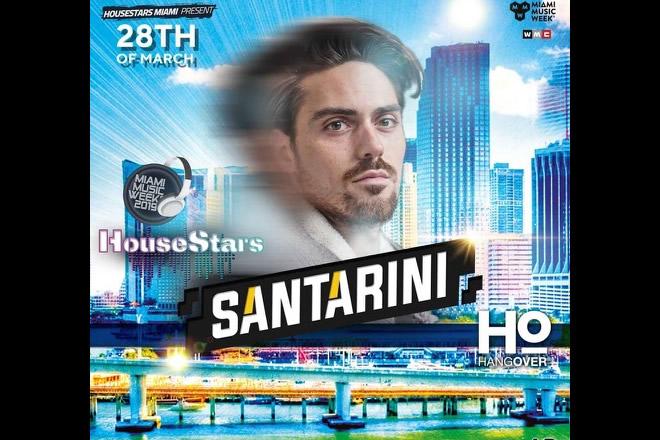 Santarini in console alla Miami Music Week 2019