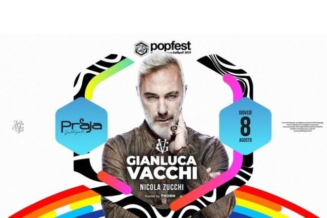 Gianluca Vacchi al Popfest del Praja