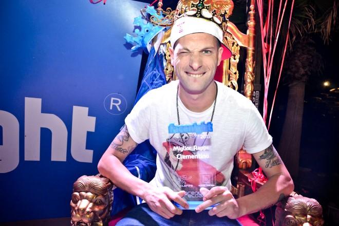 Clementino, uno dei vincitori delle scorse edizioni del Premio Facenight
