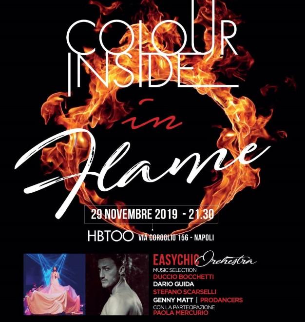 Colour Inside - Flame