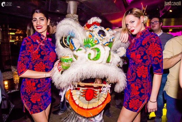 Capodanno Cinese al Just Cavalli di Milano