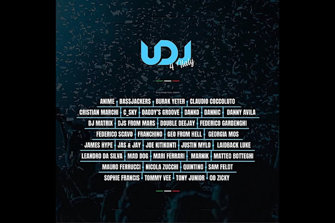 United DJs for Italy