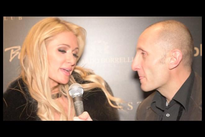 L'autore di Faccio After Lorenzo Tiezzi con Paris Hilton